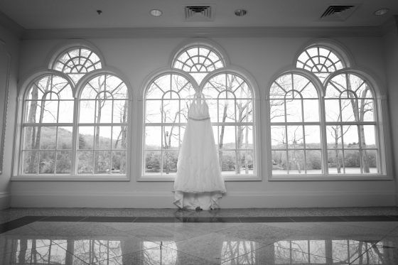 Wedding Dress at The Waterview Monroe CT - Wedding Photography by CT Photo Group