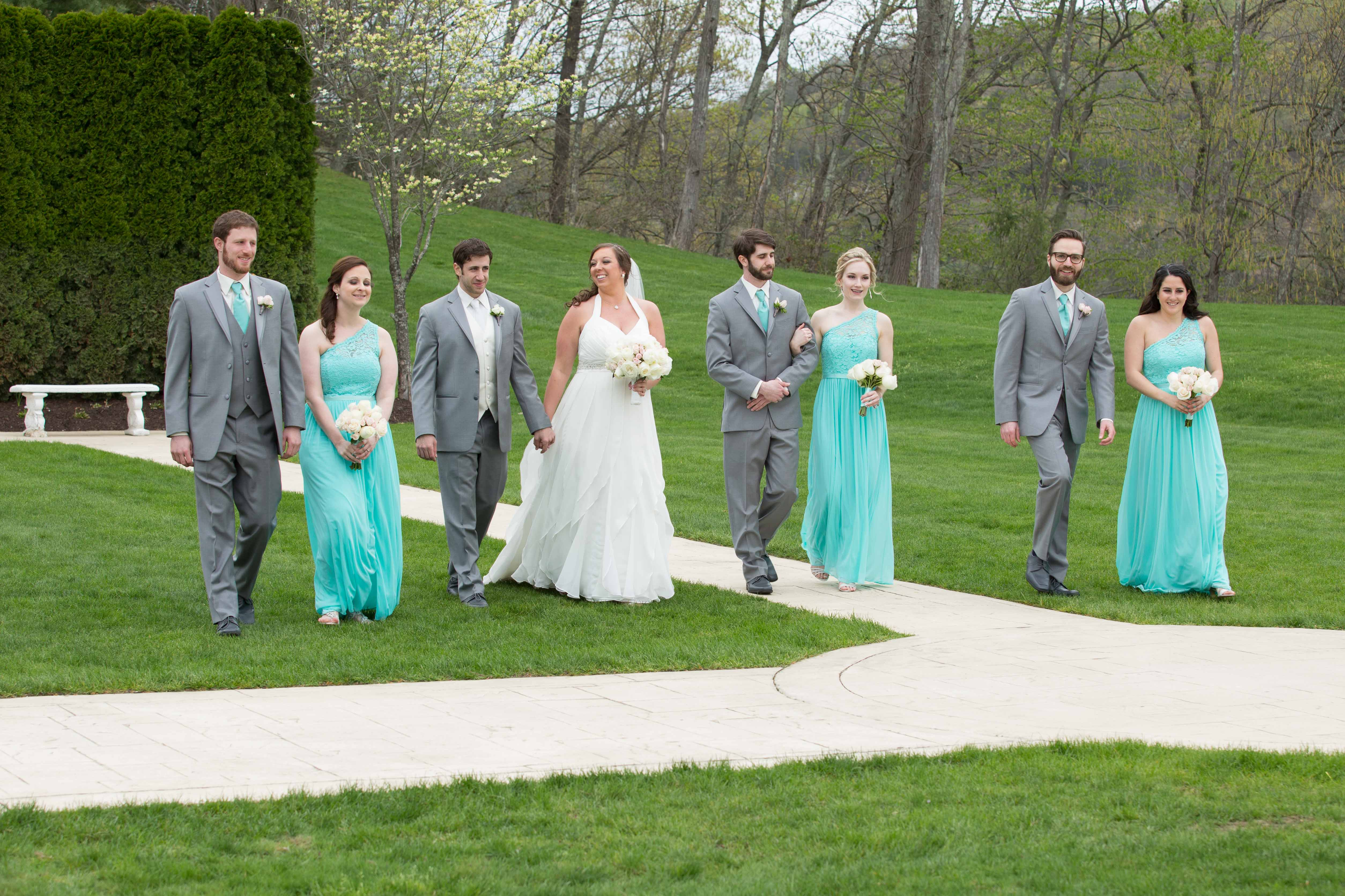 Bridal Party at The Waterview Monroe CT - Wedding Photography by CT Photo Group