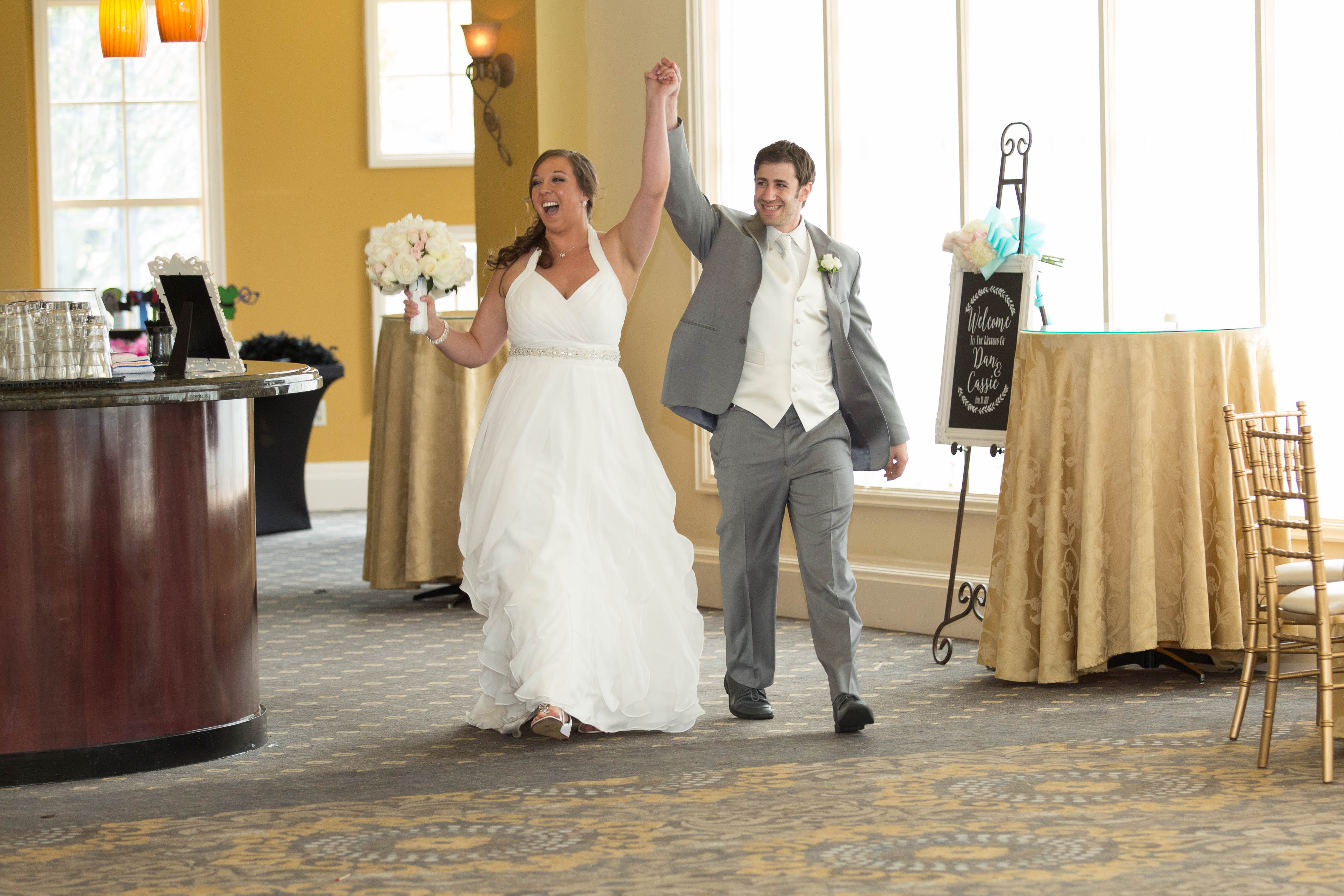 Intorductions at The Waterview Monroe CT - Wedding Photography by CT Photo Group