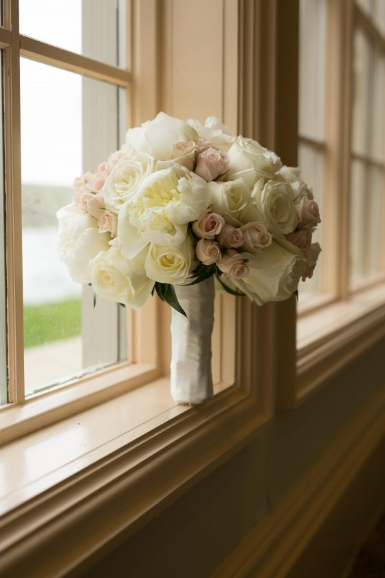 Bridal Bouquet at The Waterview Monroe CT - Wedding Photography by CT Photo Group