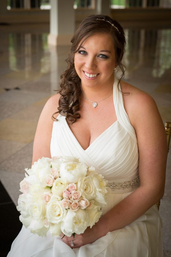 Bride Getting Ready at The Waterview Monroe CT - Wedding Photography by CT Photo Group