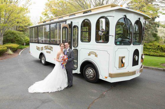 Cape Cod Trolley Wedding Photos - CT Photo Group