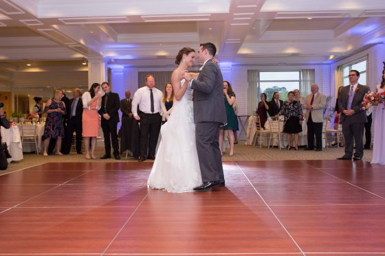 First Dance - Willowbend Country Club Wedding Photos - CT Photo Group