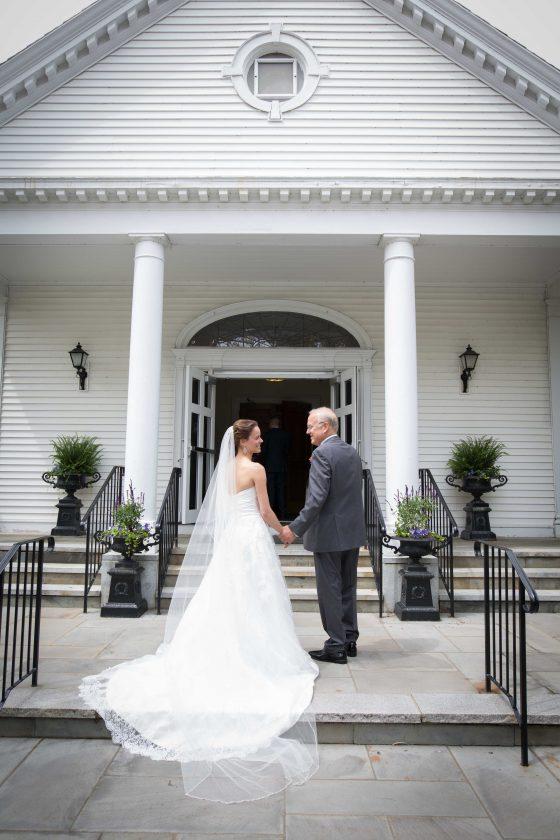 Bride at Church - Wedding Photography - CT Photo Group