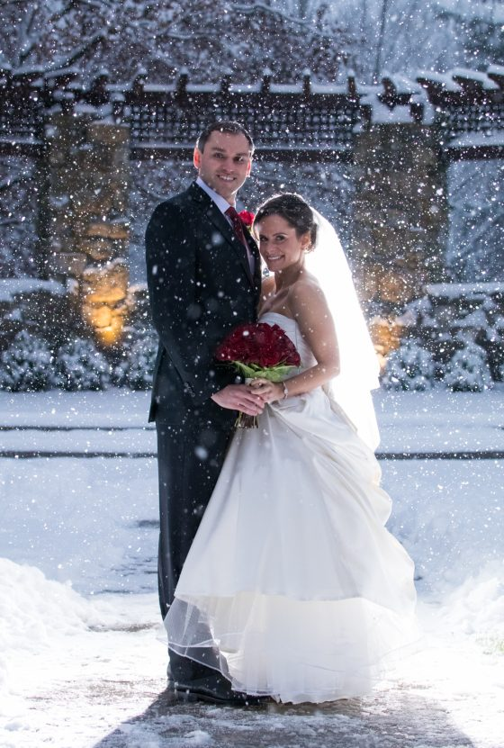 Le Chateau Winter Wedding-Wedding Photography - CT Photo Group