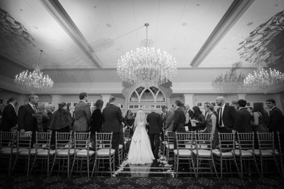 Wedding Ceremony at Le Chateau-Wedding Photography - CT Photo Group