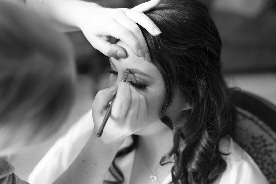 Bride Getting Ready - CT Wedding Photography - CT Photo Group