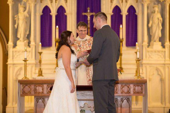 Wedding Ring Exchange - CT Wedding Photography - CT Photo Group