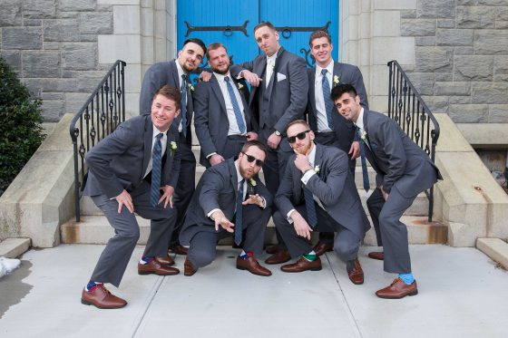 The Groomsmen - CT Wedding Photography - CT Photo Group