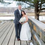 Bride and Groom on Golf Course - CT Wedding Photography - CT Photo Group