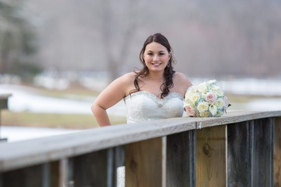 Bride Alone - CT Wedding Photography - CT Photo Group