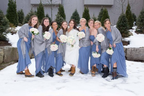 Bridal Party at Heritage Hotel - CT Wedding Photography - CT Photo Group