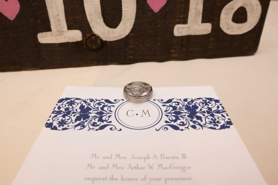 Wedding Rings and Invitation - CT Wedding Photography - CT Photo Group