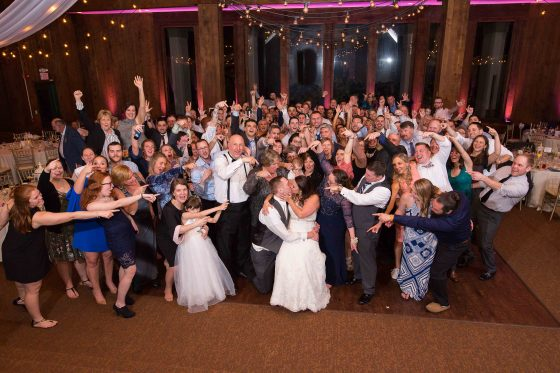 Wedding Reception at Heritage Hotel - CT Wedding Photography - CT Photo Group