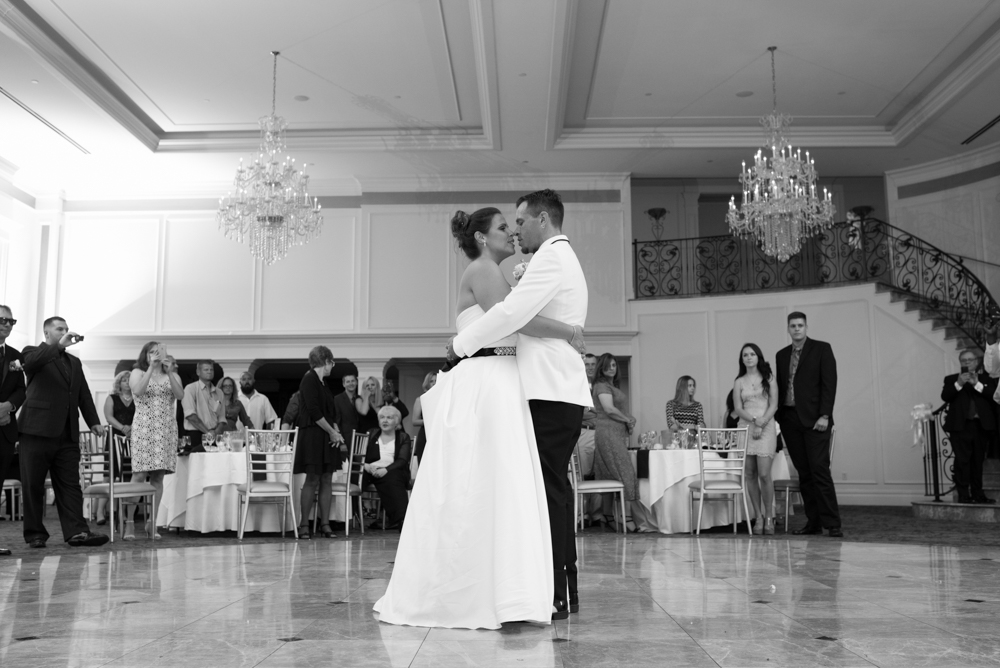 First Dance at Aria - Wedding Photography - CT Photo Group