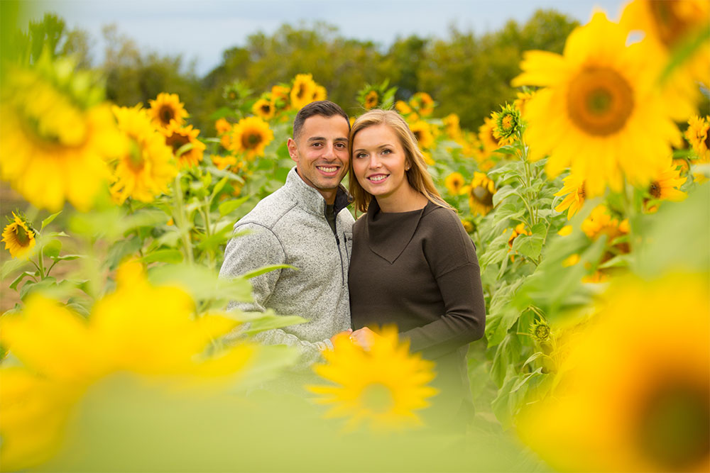 Outhouse Orchards Engagement Photography - CT Photo Group