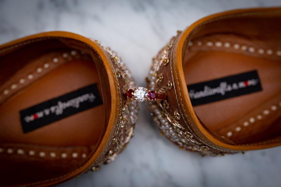 Lakota Oaks - Engagement Ring with Shoes - CT Photo Group