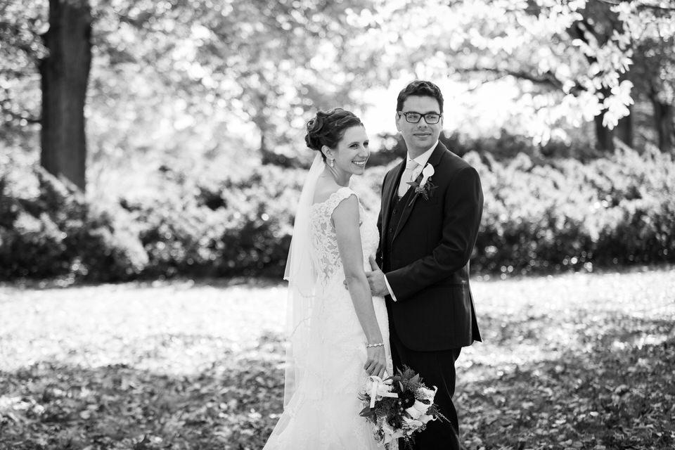 Edgerton Park New Haven CT Weddings - Bride & Groom - CT Photo Group