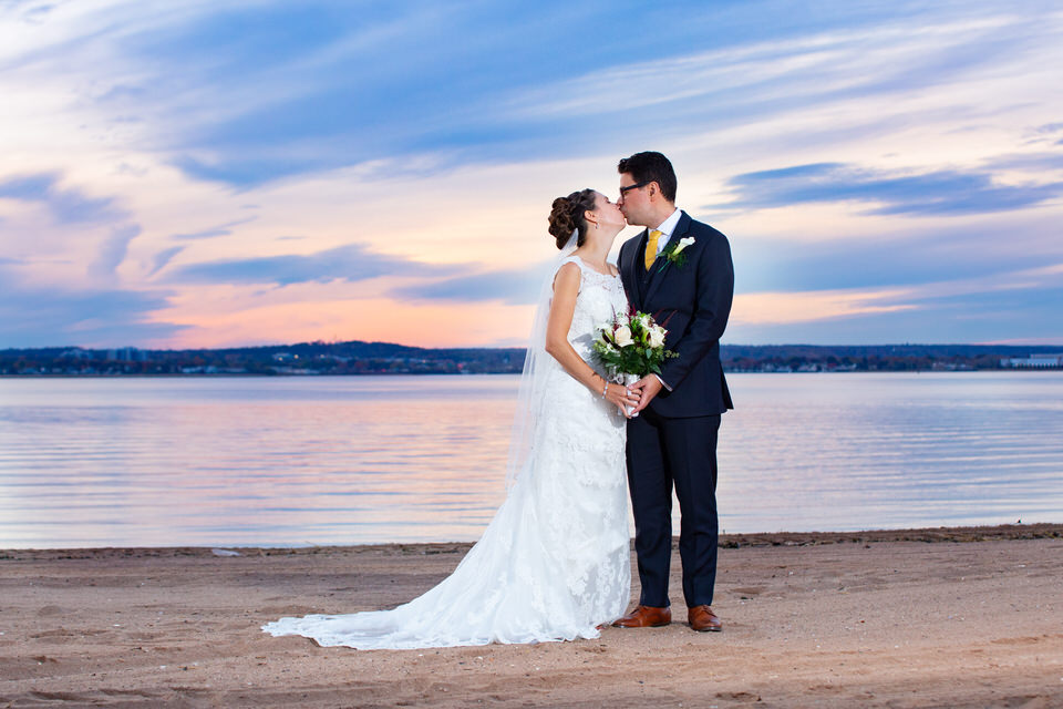 Anthony's Ocean View Weddings - Sunset - CT Photo Group