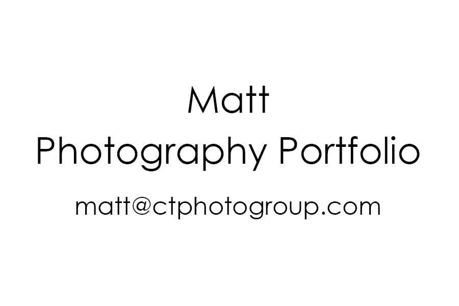 Matt - Photographer CT Photo Group