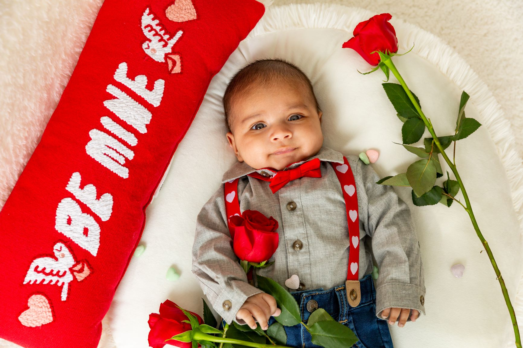 Valentines Baby Shoot By CT Photo Group